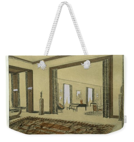 Salon, From Repertoire Of Modern Taste Weekender Tote Bag