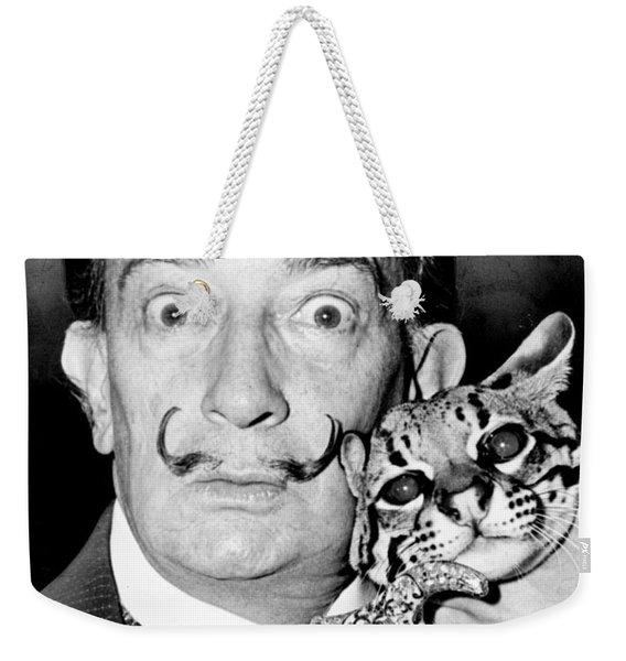 Salvador Dali Weekender Tote Bag