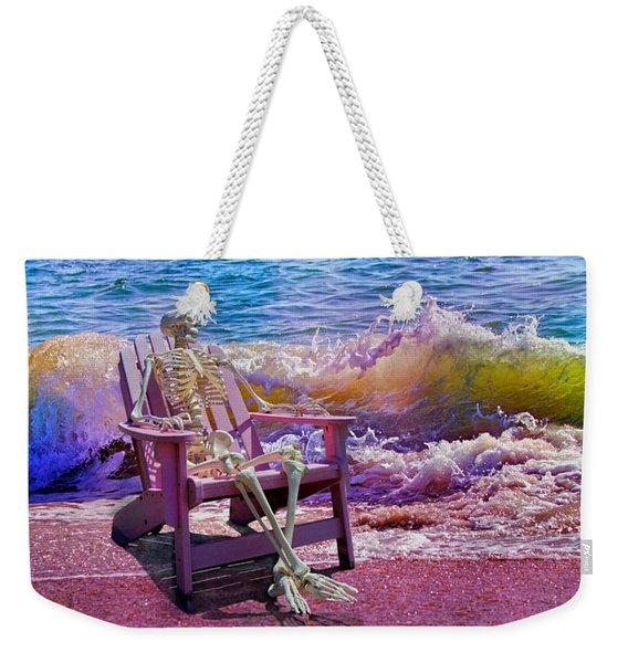 A-loon On The Beach  Weekender Tote Bag