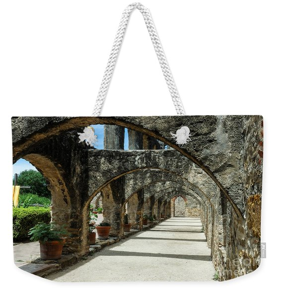 San Antonio Mission Arches Weekender Tote Bag
