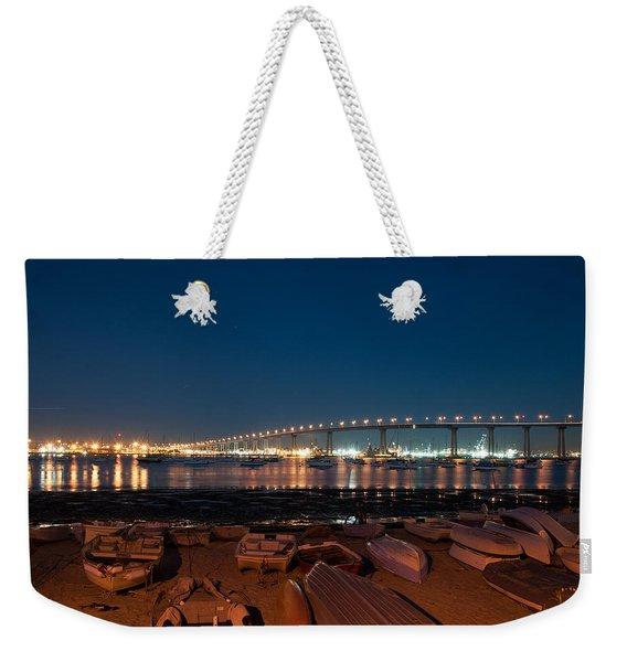 San Diego Bridge  Weekender Tote Bag