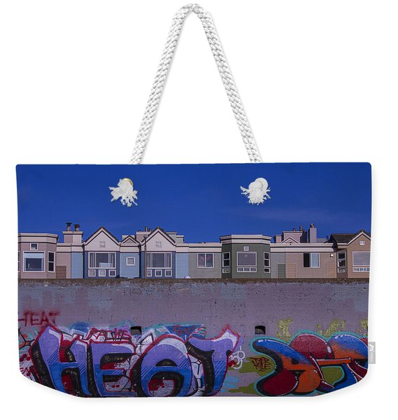 San Francisco Graffiti Weekender Tote Bag
