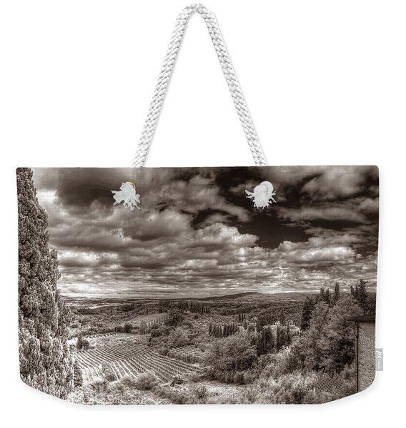 San Gimignano View Weekender Tote Bag