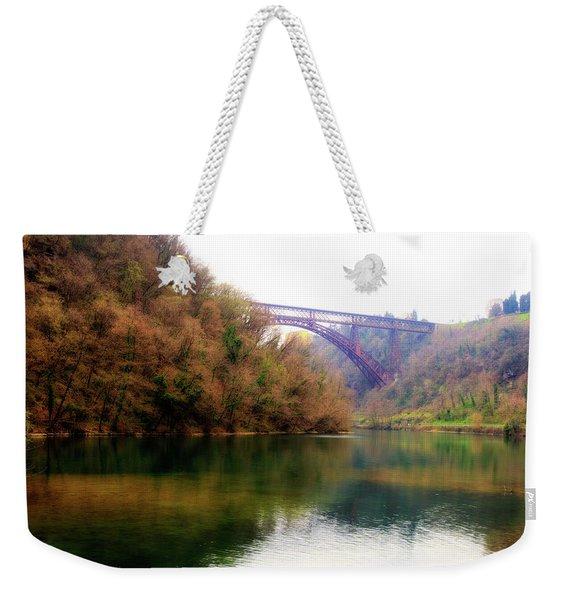 San Michele Bridge N.1 Weekender Tote Bag