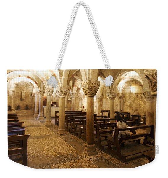 San Michele Chapel Weekender Tote Bag