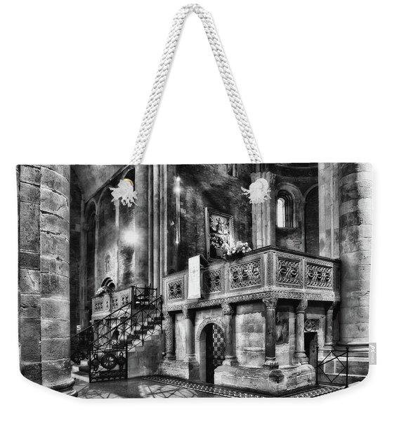 San Michele Toward The Altar Weekender Tote Bag