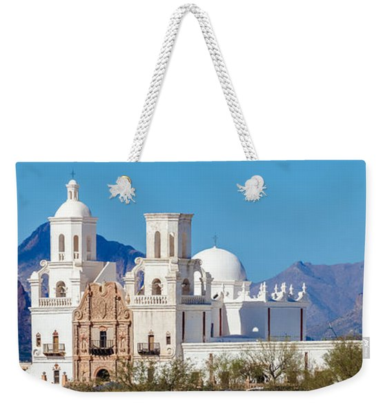 San Xavier Del Bac Mission Weekender Tote Bag