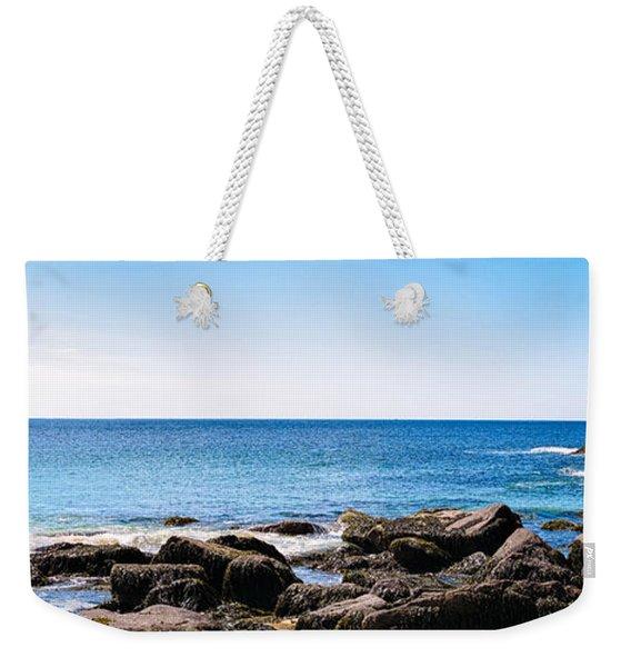Sand Beach Rocky Shore   Weekender Tote Bag