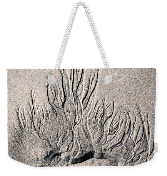 Sand Trails Weekender Tote Bag