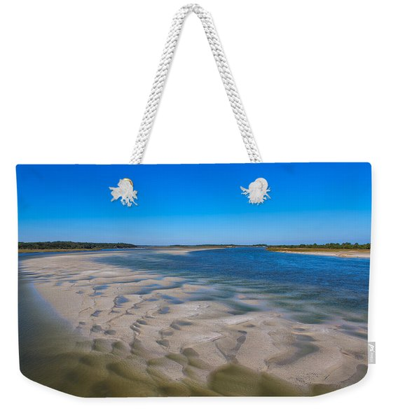 Sandbars On The Fort George River Weekender Tote Bag