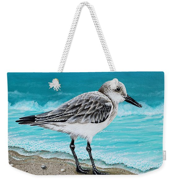 Sanderling Weekender Tote Bag