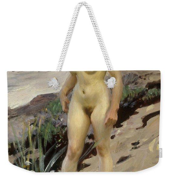 Sandhamn Study Weekender Tote Bag