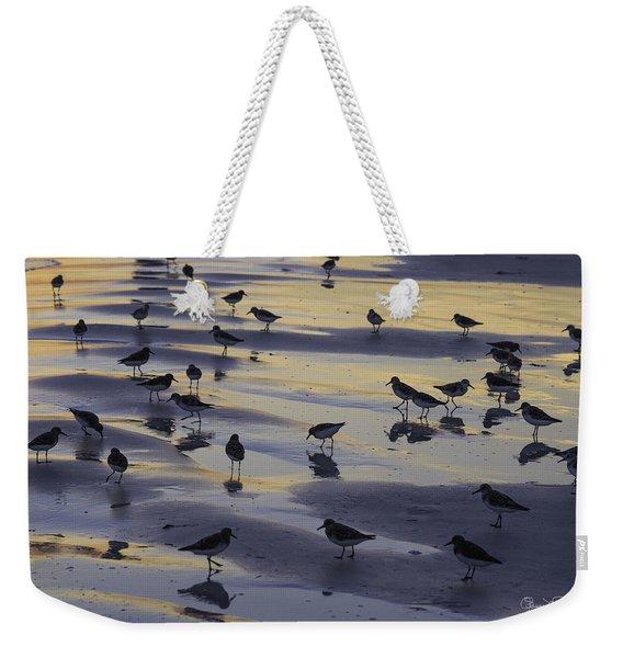 Sandpiper Sunset Convention Weekender Tote Bag