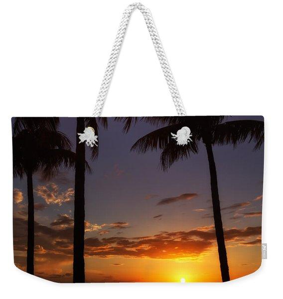 Sanibel Island Sunset Weekender Tote Bag