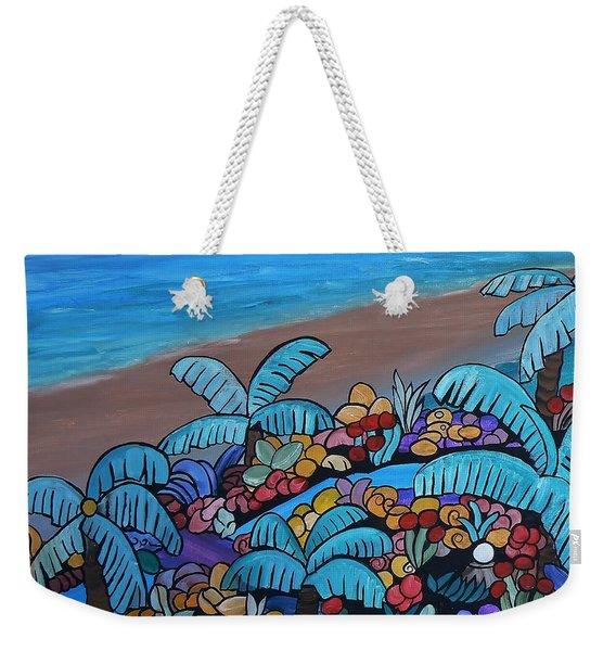 Santa Barbara Beach Weekender Tote Bag