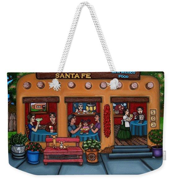 Santa Fe Restaurant Weekender Tote Bag