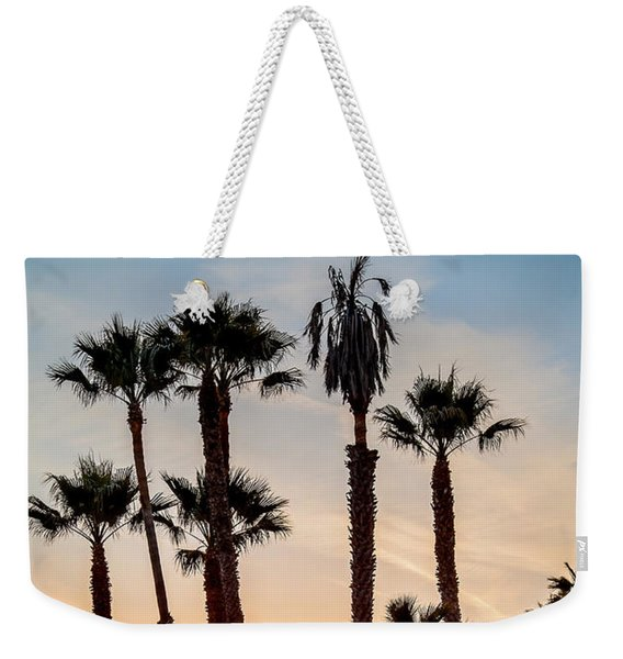 Santa Monica Palms Weekender Tote Bag
