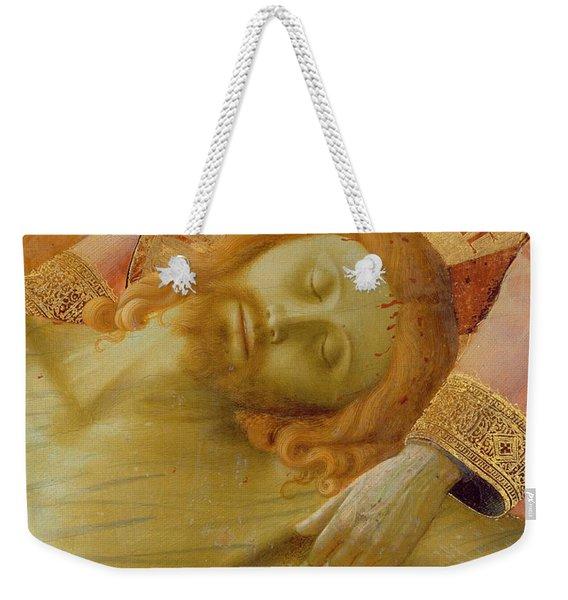 Santa Trinita Altarpiece Weekender Tote Bag