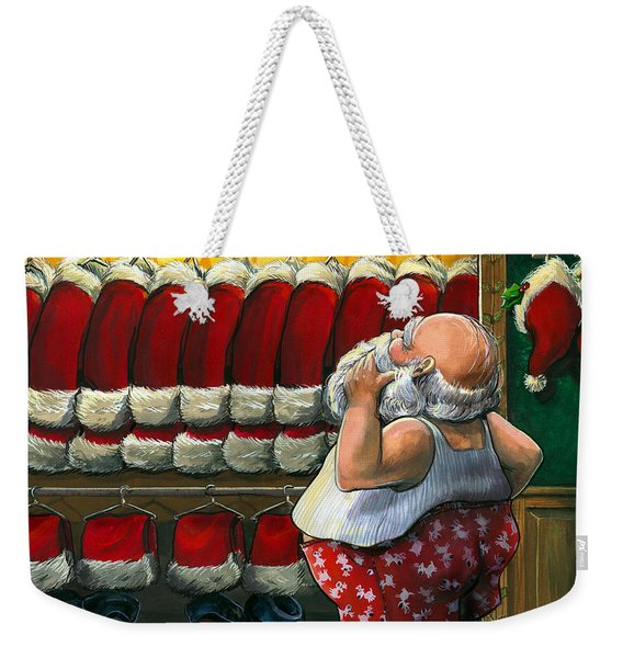 Santa's Closet Weekender Tote Bag