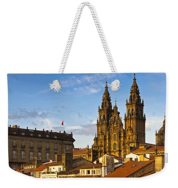 Santiago De Compostela Cathedral Galicia Spain Weekender Tote Bag
