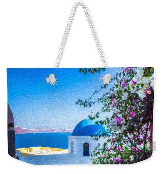 Santorini Grk4166 Weekender Tote Bag