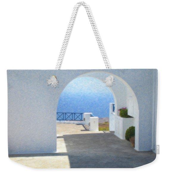 Santorini Grk8681 Weekender Tote Bag