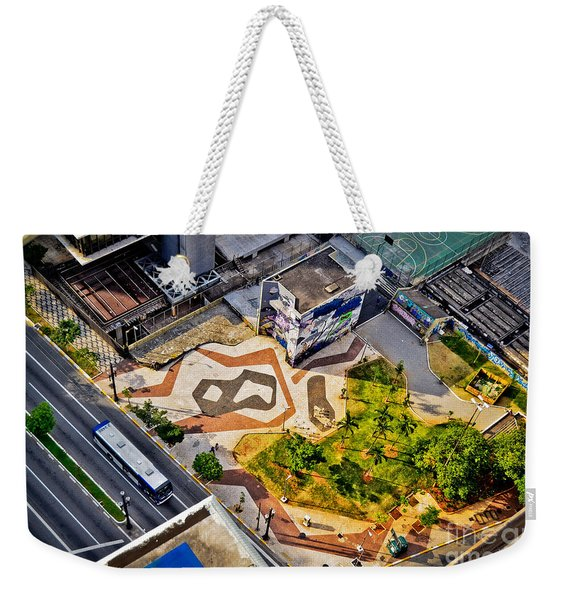 Sao Paulo Downtown - Geometry Of Public Spaces Weekender Tote Bag
