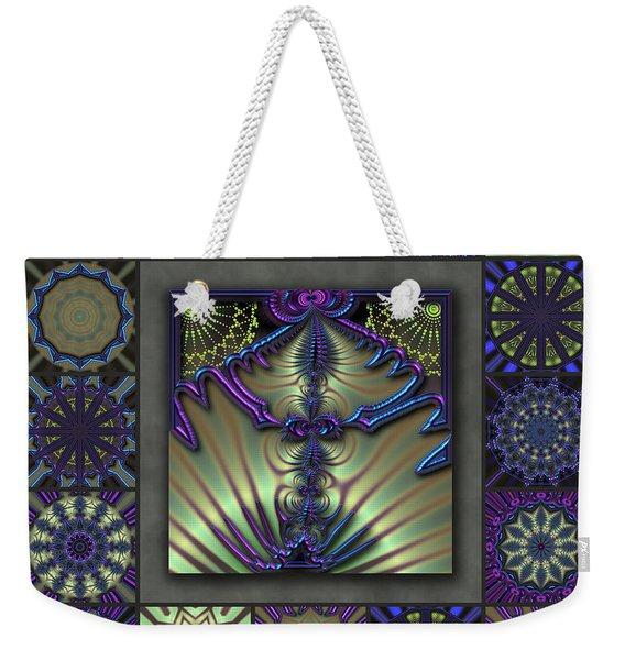 Sapphire Wind Redux  Weekender Tote Bag