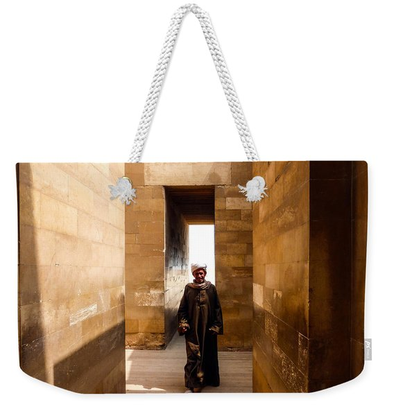 Saqqara Temple Weekender Tote Bag