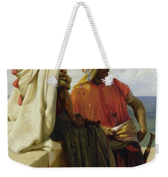 Saracens In Front Of Their Position Weekender Tote Bag
