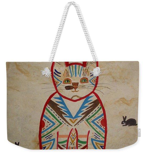 Sarah's Cat Weekender Tote Bag