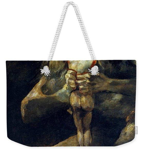 Saturn Devouring His Son Weekender Tote Bag