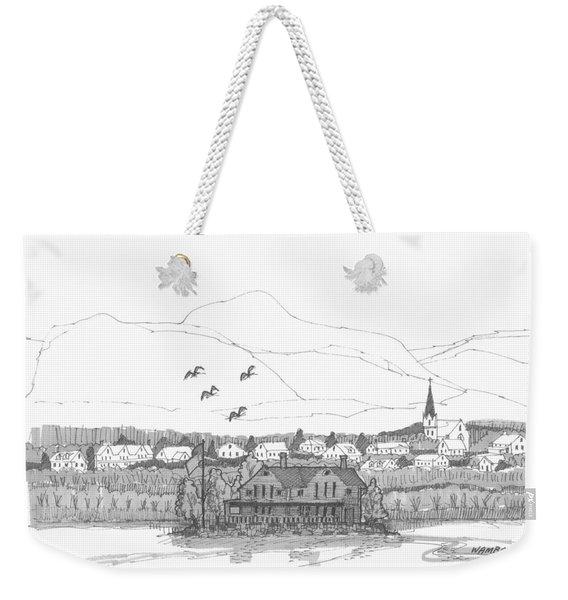 Saugerties From Tivoli Weekender Tote Bag