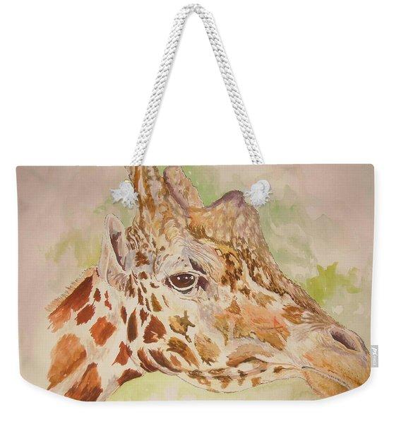 Savanna Giraffe Weekender Tote Bag