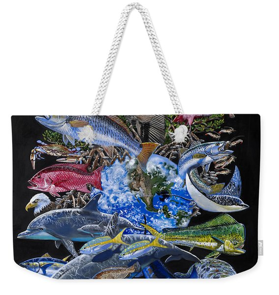 Save Our Seas In008 Weekender Tote Bag