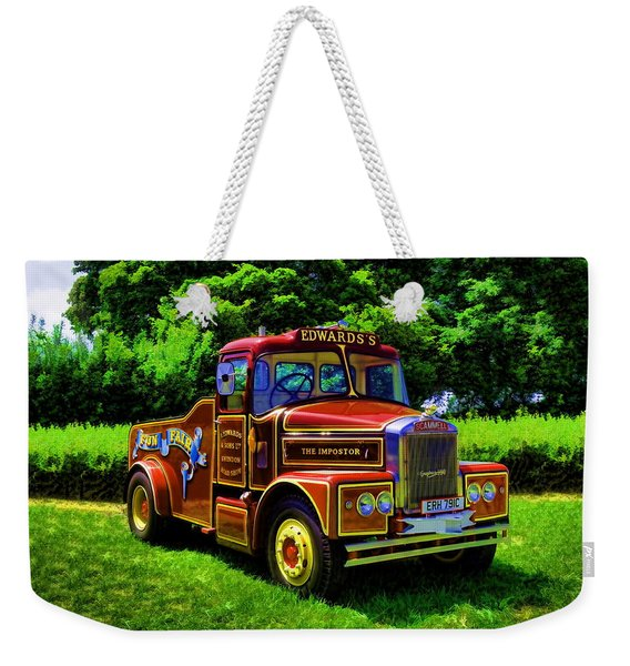Scammell Highwayman - Color Weekender Tote Bag
