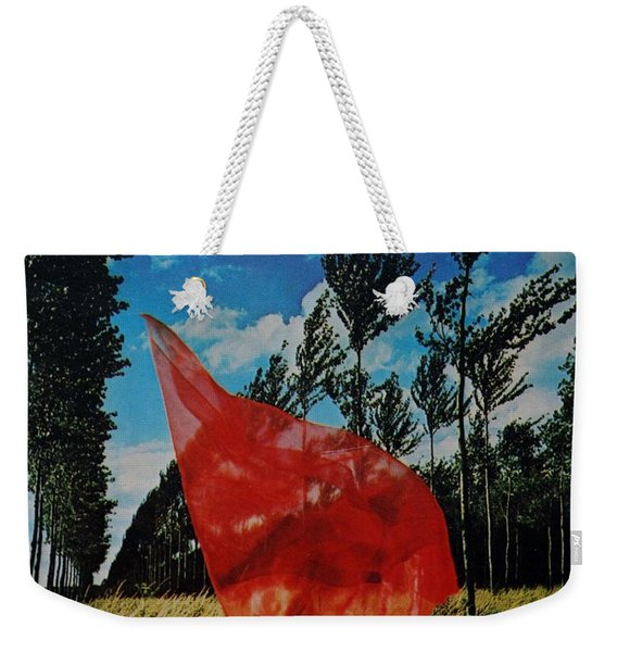 Scarf In The Winds Weekender Tote Bag