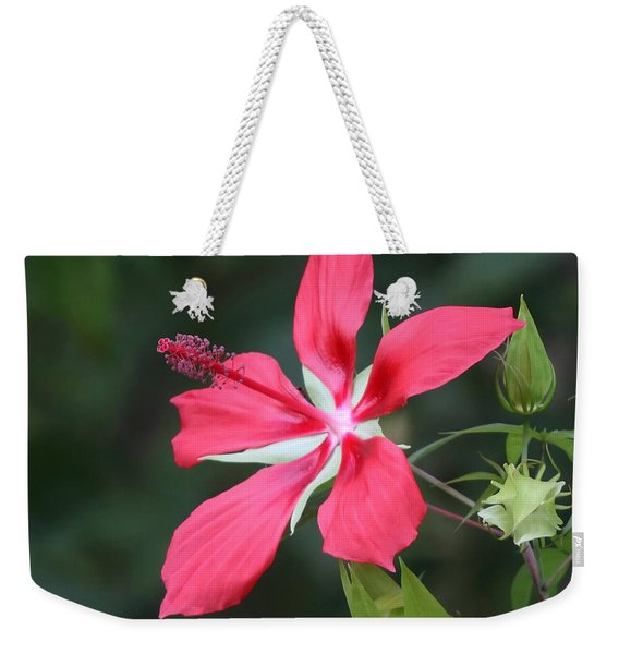 Scarlet Hibiscus #3 Weekender Tote Bag