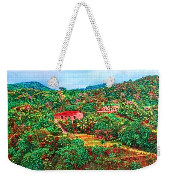 Scene From Mahogony Bay Honduras Weekender Tote Bag