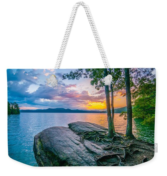 Scenery Around Lake Jocasse Gorge Weekender Tote Bag