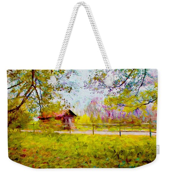Scenery Series 03 Weekender Tote Bag