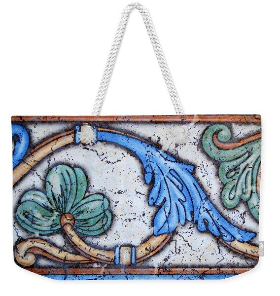 Scenic Tile Weekender Tote Bag