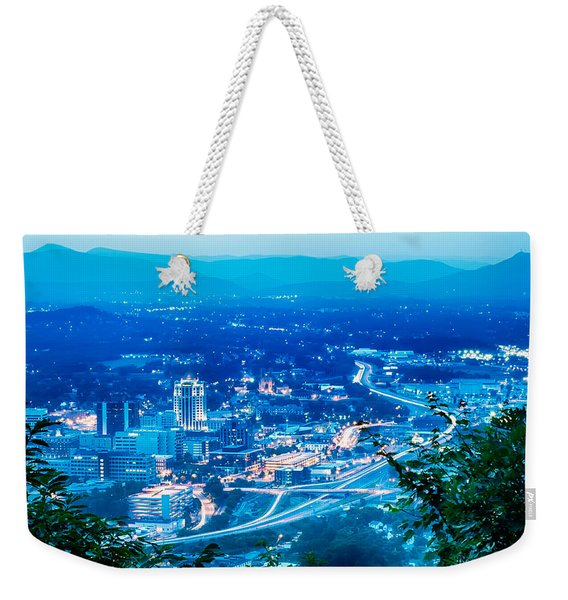 Scenics Around Mill Mountain Roanoke Virginia Usa Weekender Tote Bag
