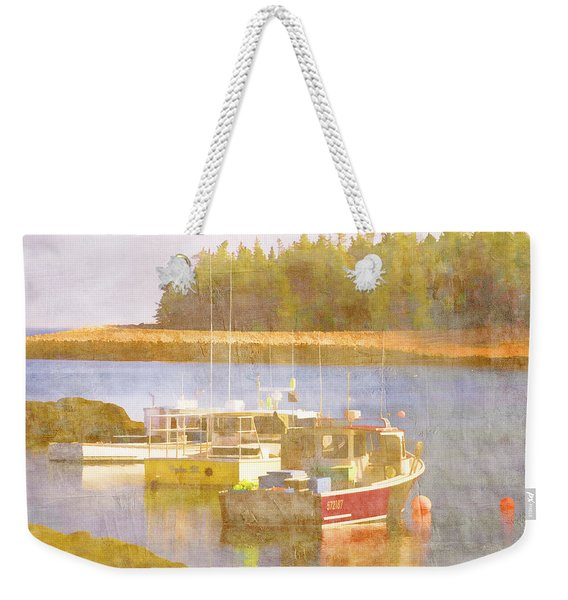 Schoodic Peninsula Maine Weekender Tote Bag