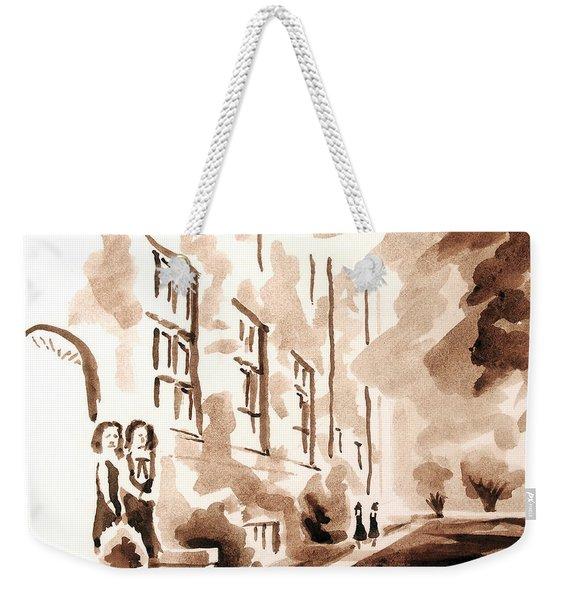 School Days At Ursuline Weekender Tote Bag