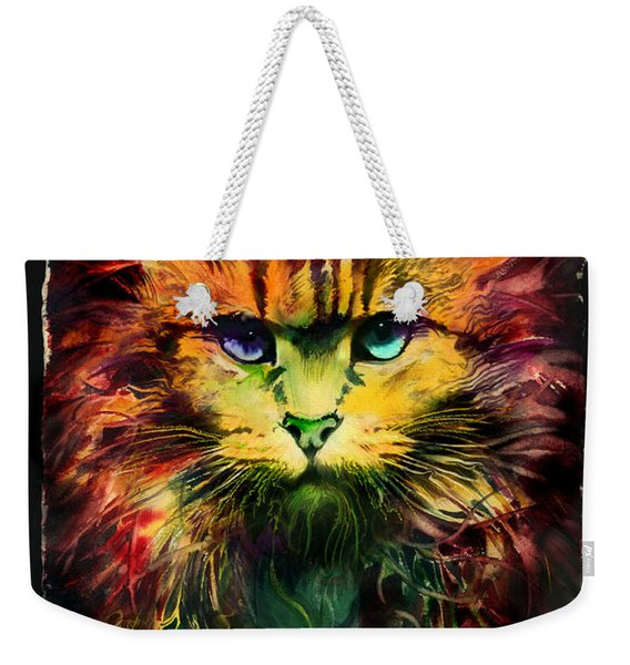 Schrodinger's Cat Weekender Tote Bag