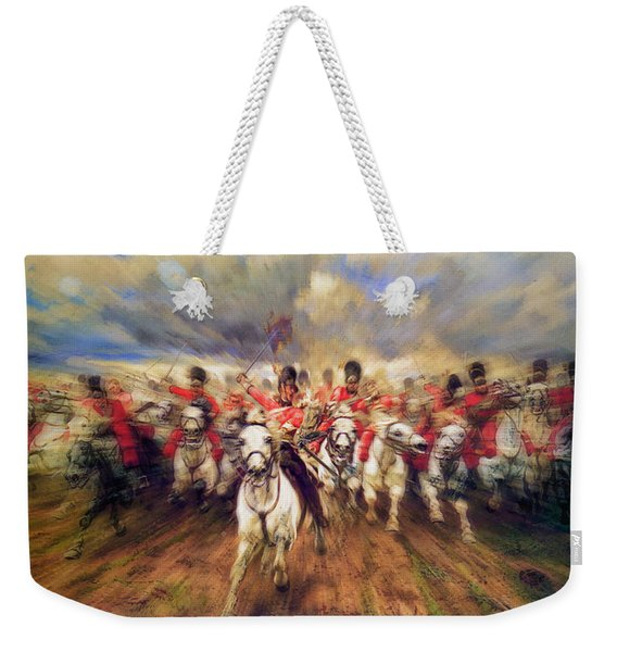 Scotland Forever During The Napoleonic Wars Weekender Tote Bag