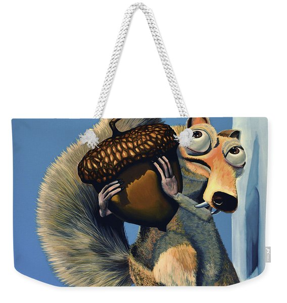 Scrat Of Ice Age Weekender Tote Bag