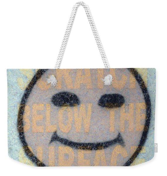 Scratch Below The Surface Weekender Tote Bag