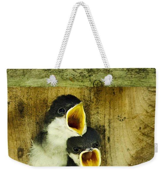 Screaming Hungry Weekender Tote Bag